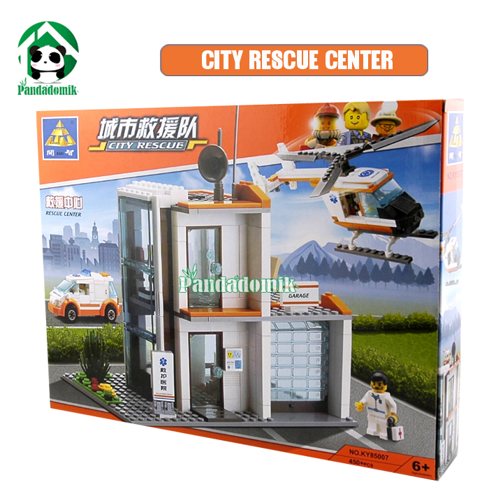 Building Blocks City Rescue 45Compatible Bricks Helicopter / Educational Toys/ Learning Education brinquedos - Pandadomik store