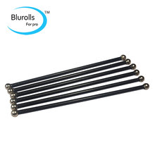 Reprap Kossel delta K800 3 D printer magnetic Diagonal push rods kit end Rods Arms kit/set 180mm Carbon tube assembled rod kit