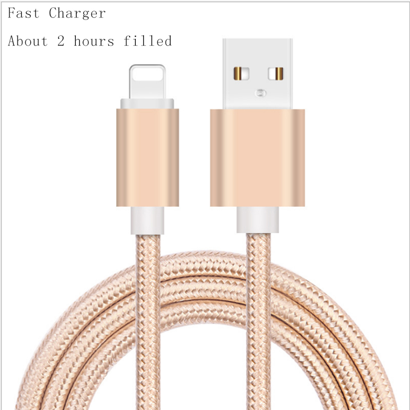 Original USB Cable 0.5M 1M 2M 8 Pin Transfer Data Sync Line Charging Charger Cable iPhone 5S 5C 6 6Plus 6S iPad