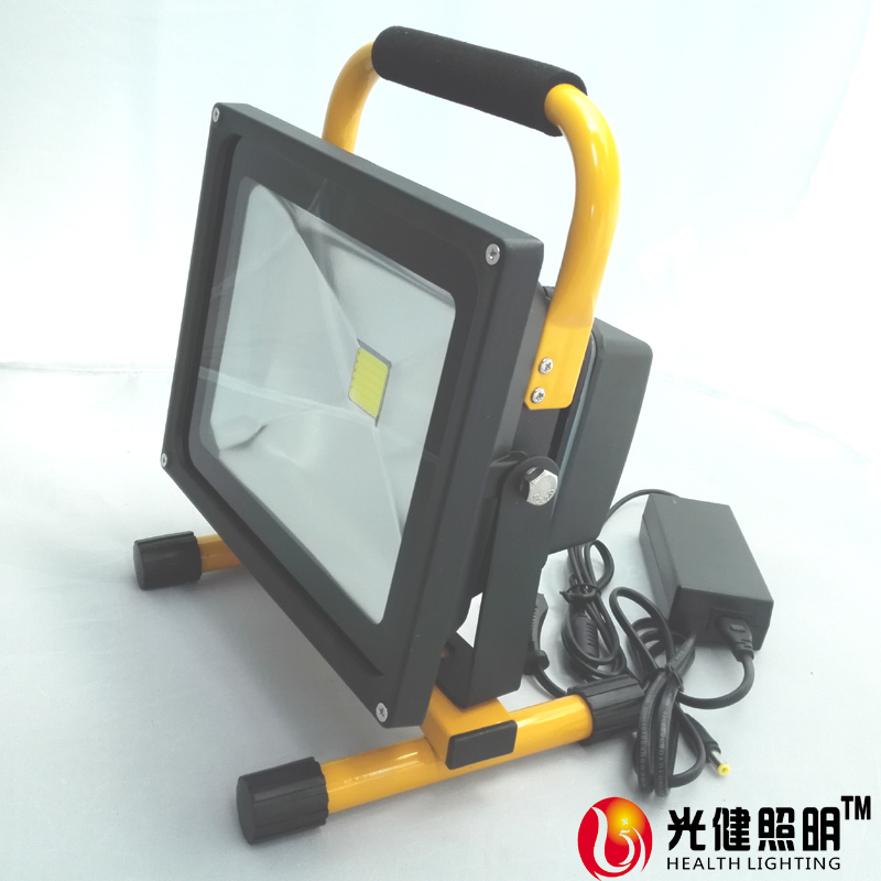 50W dimming rechargeable camping light Epistar LED IP65