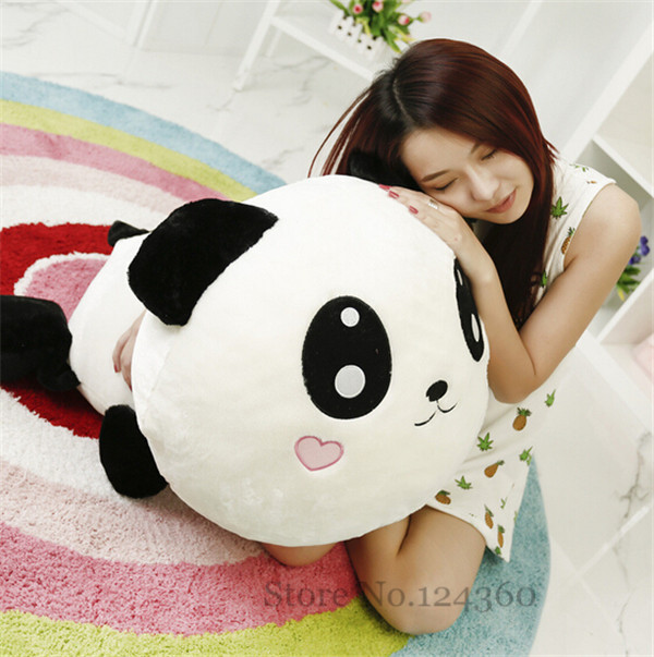 45cm Panda Plush Toy Cute Soft Large Plush Doll Bedroom Sofa Pillow Products Birthday Gift 2015 Free Shipping New Arrival Rushed(China (Mainland))