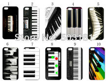 hot !new design! 10PCS/LOT Piano Keyboard hard  case back cover   for iPhone 4 4g 4s +free shipping