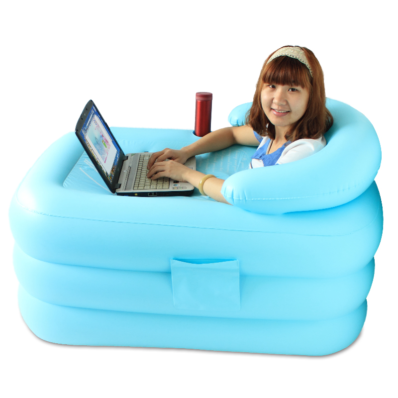 heat preservation thickening medium inflatable bathtub