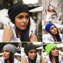 Women Men Unisex Knitted Winter Cap Casual Beanie Women's Hats Sport Beanies Hip-Hop Slouch Skullies Bonnet Hat