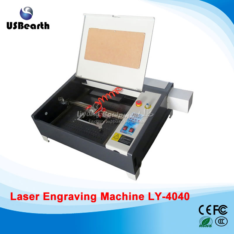 2017 Laser engraver 4040 with 50W CO2 laser tube equips with honey comb(China (Mainland))
