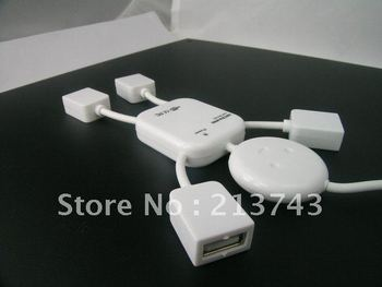 High Speed 4 Port USB HUB Adapterfor Laptop PC 12