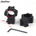 JouFou 2pcs pcs Hunting Gun Accessories Rifle Scope Mounts Optical Sight Bracket High 21mm Picatinny Weaver