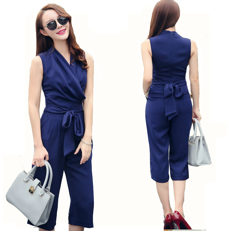 new 2016 jumpsuit women overall sexy fashion rompers. Black Bedroom Furniture Sets. Home Design Ideas