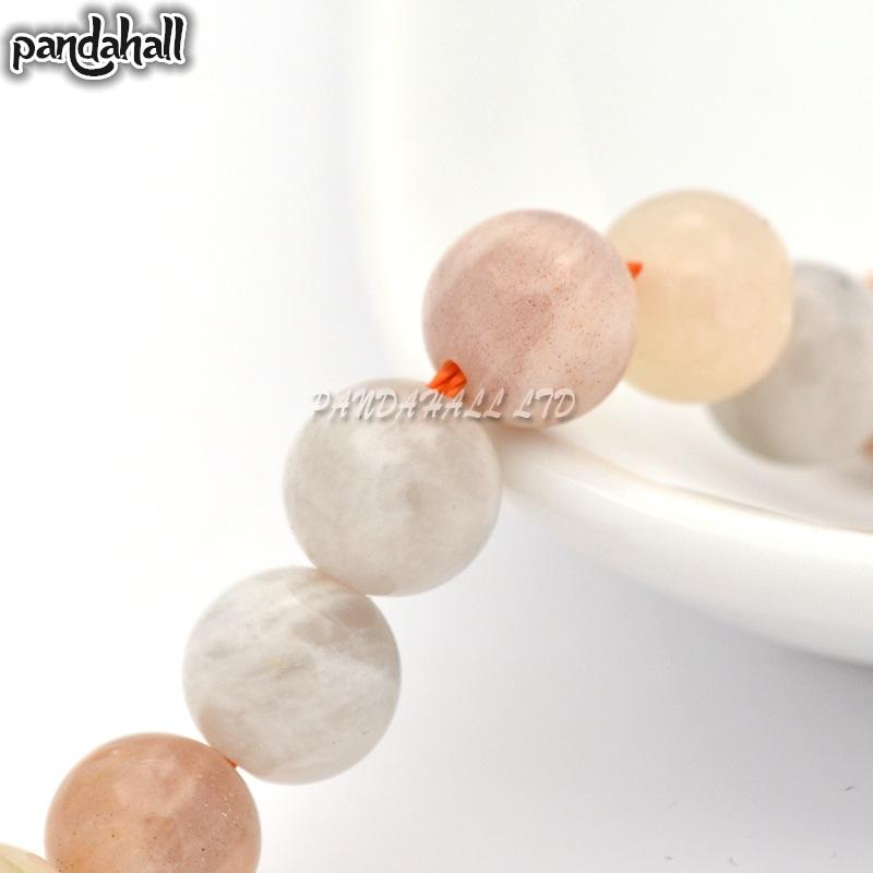 Natural Moonstone Round Beads Strands, 10mm, Hole: 1mm; about 19pcs/strand, 7.6<br><br>Aliexpress