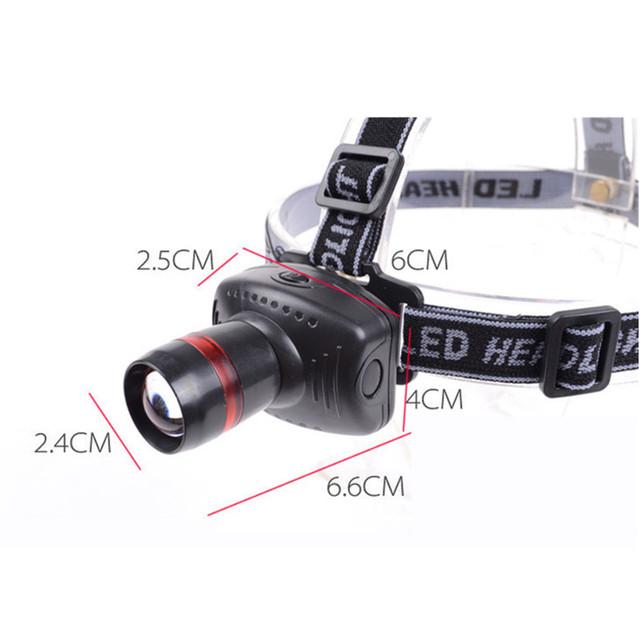 Mini LED Headlamp 3 Mode Energy Saving