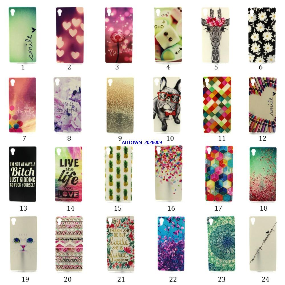 case for Live the Life Pineapple TPU Jelly case for Sony Xperia M4 Aqua(China (Mainland))
