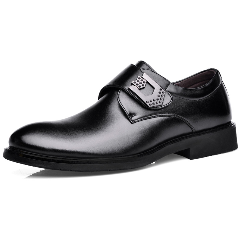 Fashion Men Oxfords Pointed Toe Men Dress Shoes Men Formal Shoes Flats Soft Leather Shoes Flats Black Brown(China (Mainland))