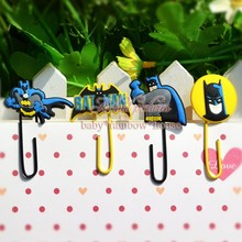 Good quality,4pcs/set Despicable Me/ Minions Paper Clips /Bookmarks for Book Page Holder,School/Office Supplies Stationery(China (Mainland))
