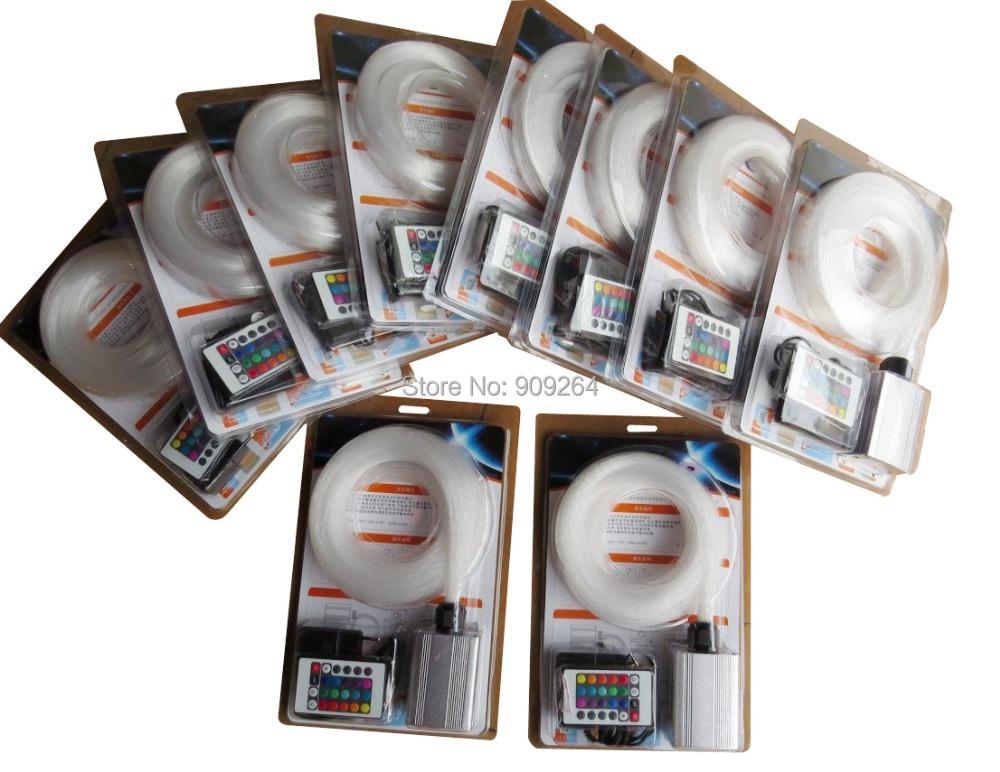 DHL 201.0mmX2m PMMA fiber optic twinkle star ceiling light+5W light illuminator+IR remote controler - Westbay Led Lighting Co.,Ltd store
