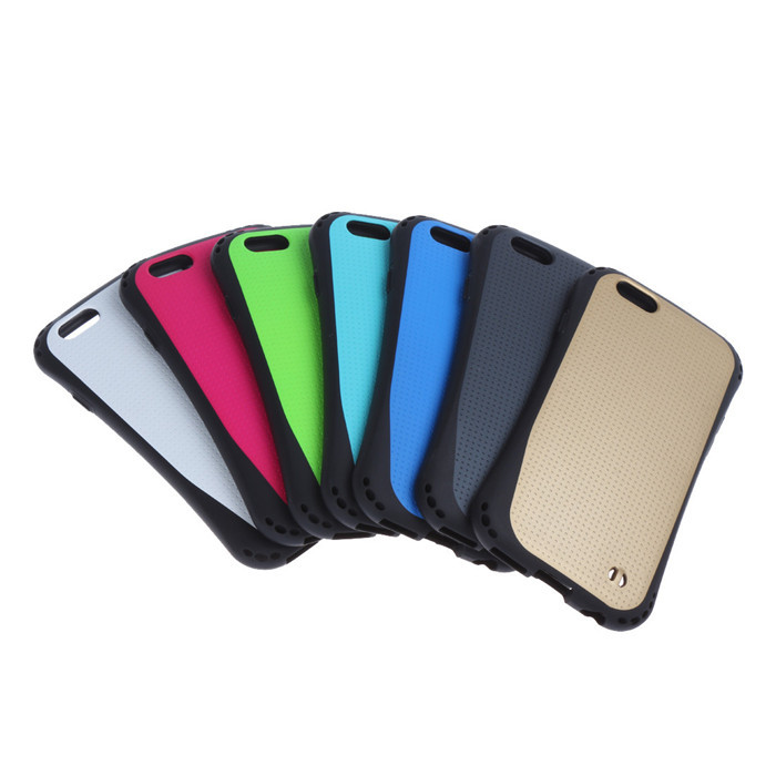 12pcs Bulk Dot Cases For iPhone 6 Hybrid Case Soft & Hard For iPhone6 TPU Cover For iPhon 6 Capa Capinha Fundas Carcasas Coque(China (Mainland))