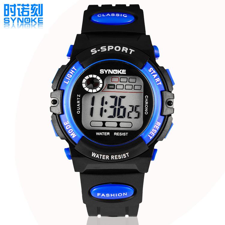 2016 New Outdoor Sports Children Kids Watches Boy Girls Digital LED Waterproof Quartz Analog Wrist Watch(China (Mainland))