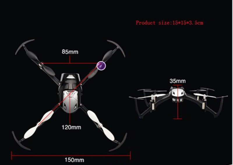 2016 hot sell Rc Drone 2.4G 4CH Remote Control Quadcopter One key Axis Inverted Drone Aircraft Headless Mode Drone Model Toys