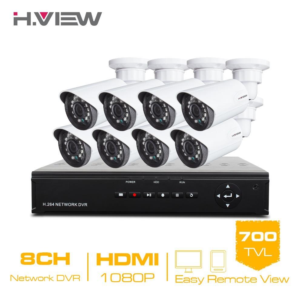 Система видеонаблюдения h.View 8/cctv