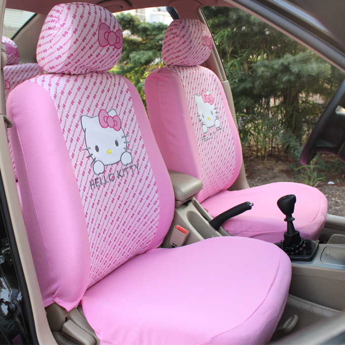 Hello Kitty Car Bench Seat Covers