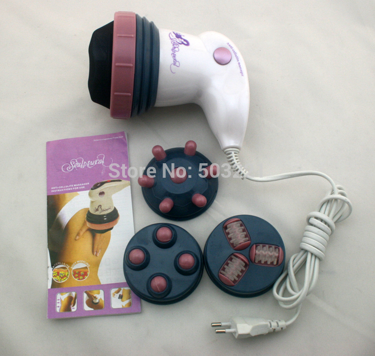 Brand new style electric full body massager professional weight loss relax spin tone as seen on TV health care(China (Mainland))