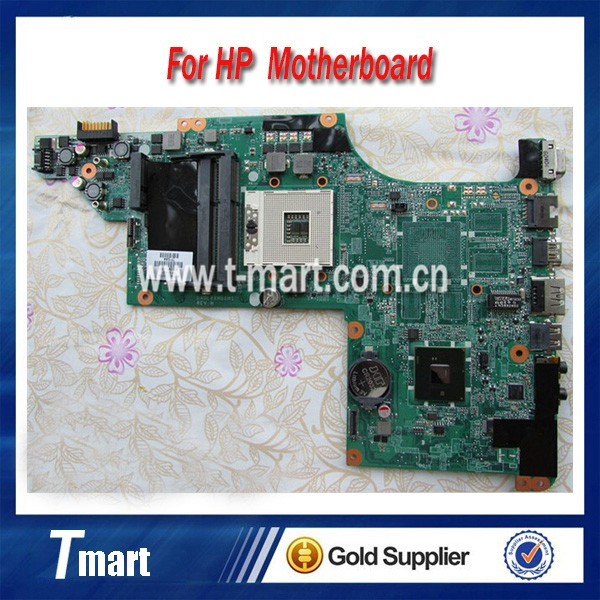 100% working Laptop Motherboard for hp 630281-001 pavilion DV6-3000 HM55 System Board fully tested