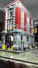 2016 New LEPIN 16001 4695Pcs Ghostbusters Firehouse Headquarters Model Building Kits Model set Minifigure brinquedos legeod(China (Mainland))