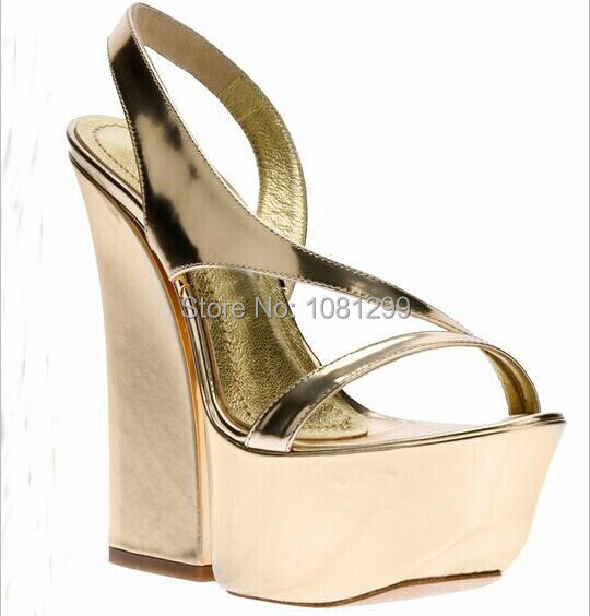 New fashion women high-heeled dress sandals women's Roman shoes female platform high heel sandals lady's thick heel sandals