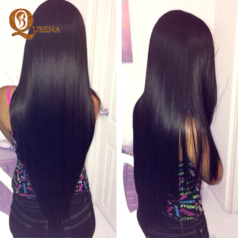 Brazilian Virgin Hair Straight Queen Hair Products 2 Bundle Deals Grade 7a Unprocessed Brazilian Straight Hair Weave Bundles