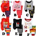 Baby Girls Clothing Kids Boys Pajama Sets Toddler Girl Sleepwear Cotton Children Clothes Suit Spring Autumn