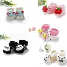 Kids Baby Unisex Newborn Animal Cartoon Socks Cotton Shoes Booties Boots 0 10M