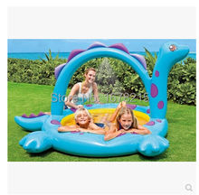 NEWWater pool Infants and young children to play pool basin inflatable swimming pool toys 229 * 165 * 117cm(China (Mainland))