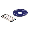 High Full Speed Express Card Expresscard to USB 3 0 2 Port Adapter Converter