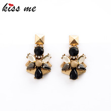 Factory Price Vintage Earrings 2015 New Retro Water Drop Flowers Women Jewelry Brincos(China (Mainland))
