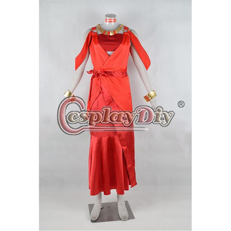 Здесь можно купить  The Legend of Korra Asami Asami Cosplay Costume Adult Women Dance Party Dress Custom Made D0902  Одежда и аксессуары