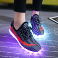 2017 New Men Led Light Shoes For Adults Brand Tenis LED Glowing Casual Zapatillas Con Luces