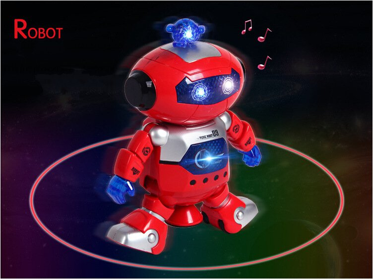 Star Dancer Dancing Robot Toy with Light and Music Creative Childrens Toys Kid Electronic Toys 360 Degree Rotating Robot LC0142<br><br>Aliexpress