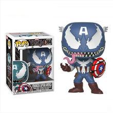 FUNKO POP New Avengers: Endgame Carnificina Venomized Hulk Homem De Ferro Capitão América Action Figure Coleção Modelo brinquedos para Crianças(China)