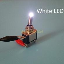 Free Shipping High Brightness 12V 20A Car Boat Truck Auto LED Light SPST Toggle Rocker Switch On/Off(China (Mainland))