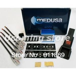 Medusa Box + Medusa Dongle + 5 Cables + Testpoints + JTAG Clip Unlock&Flash&Repair For LG, Samsung, Huawei, ZTE  Fast Shipping