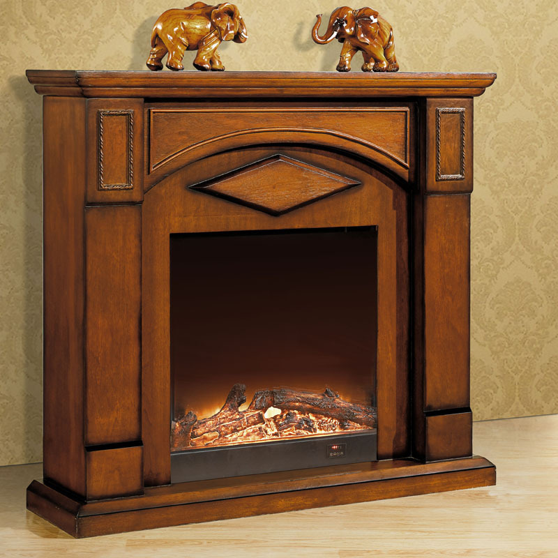 1 2 M High End European Style Fireplace Wood Engraving