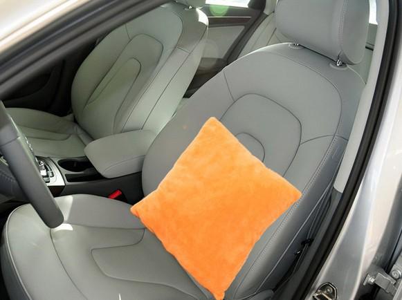 New 2013 Plush head Soft head Pillow Stuffed Sofa back cushion car headrest gift Free Shipping(China (Mainland))