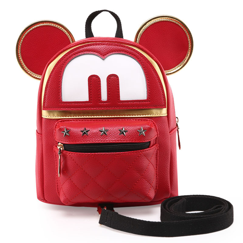 Hot sell children ajustable cartoon animal anti lost bag backpack troddler for lovely child and baby girls and boys(China (Mainland))
