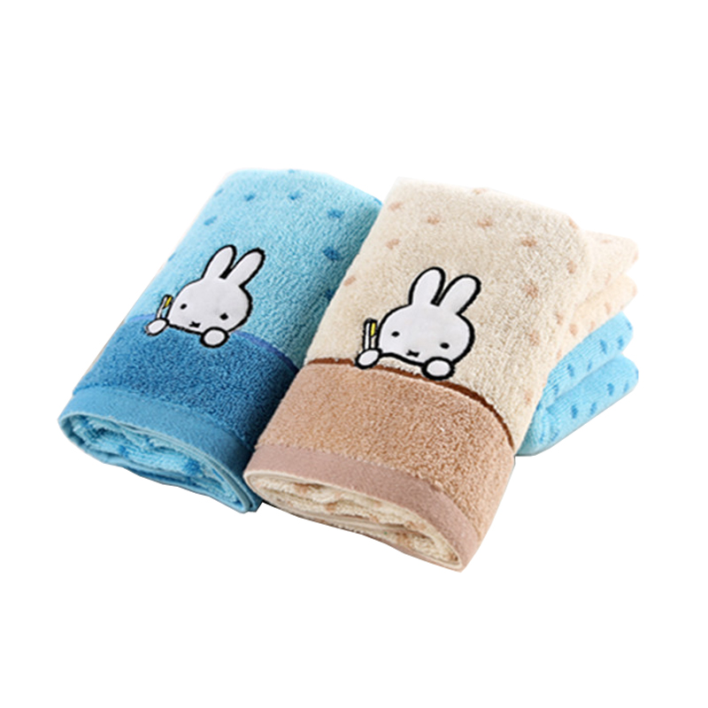 New Comfortable texture Animal Themes 100% Cotton Baby Newborn Children Cartoon Absorbent Hand Dry Towel Bath Towels Washcloth(China (Mainland))