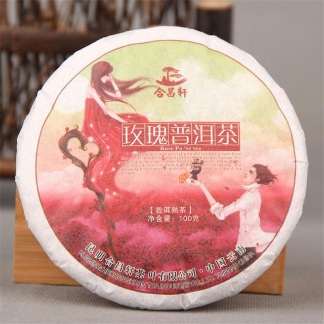 Старый Китайский пуэр чай, Роза Пу эр чай для веса потеря Для Похудения, 100% Natural Green Питание чай Пуэр пуэр pu'er 100 г