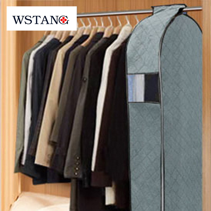 W S Tang 2015 New Environmental protection bamboo charcoal dust cover with cotton-padded for suit overcoat jacket clothes S size(China (Mainland))