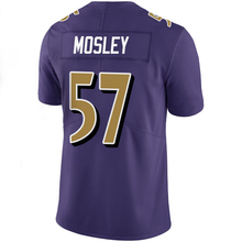 Men's Joe Flacco 5# C.J. Mosley 57# Steve Smith Sr 89# Eric Weddle 32# Terrell Suggs 55# Purple Color Rush Limited(China (Mainland))