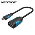 Vention Micro USB OTG Cable 25cm Adapter for Samsung Galaxy S6 S4 HTC LG Sony Xiaomi
