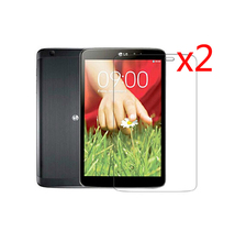 Buy 2x Film + 2x Clean Clothing, Retail Package Clear LCD Screen Protector Protective Films LG GPad G Pad Tablet 7.0 V400 V410 for $4.47 in AliExpress store