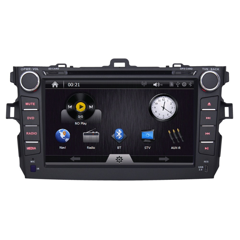 Hot Sale 2 Din 8 inch Car DVD with FM Radio RDS Bluetooth mp3 optional GPS delphi 28173908 radio wiring diagram gandul 45 77 79 119  at cos-gaming.co