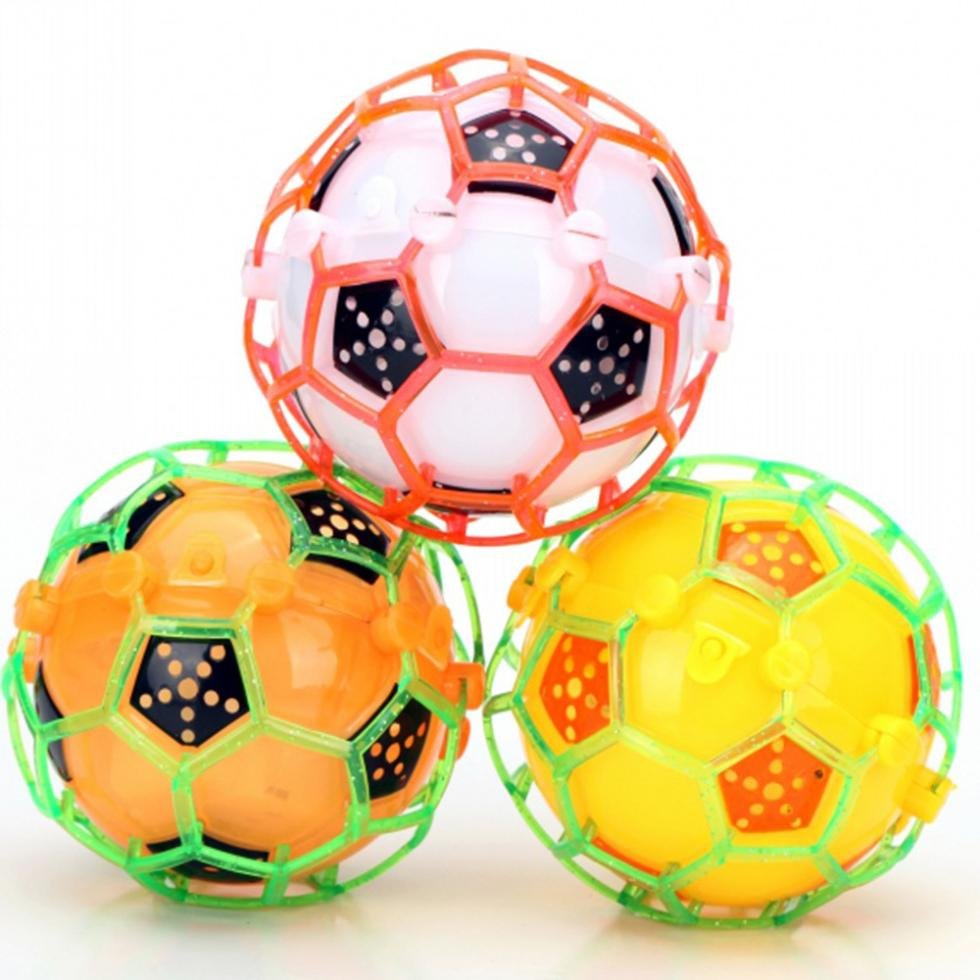 Vibrating Light-Up Self Bouncing Ball Flashing Dancing Kids Baby Soccer Toys Fun Bouncy Ball(China (Mainland))
